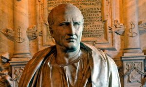 Marco Tulio Cicerón jurista romano